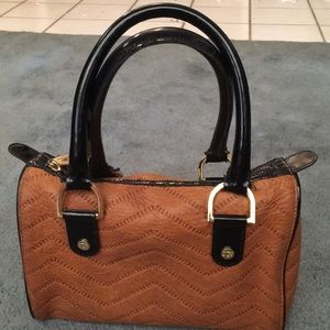 Authentic Ted Baker small satchel bag.